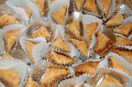 Crispy, handmade baklava