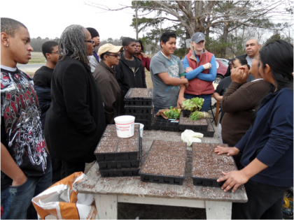 Meeting with Farmworkers